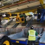 Installation of new baggage handling systems, arrivals hall gatwick airport