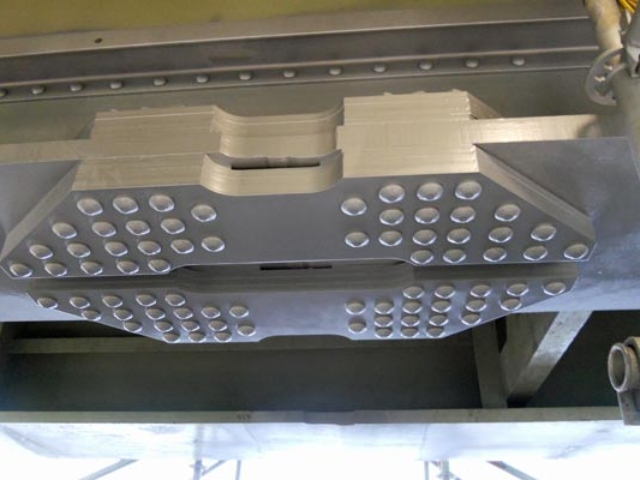 steel plates manufactured and installed by BS Steels for M4 motorway viaduct repair
