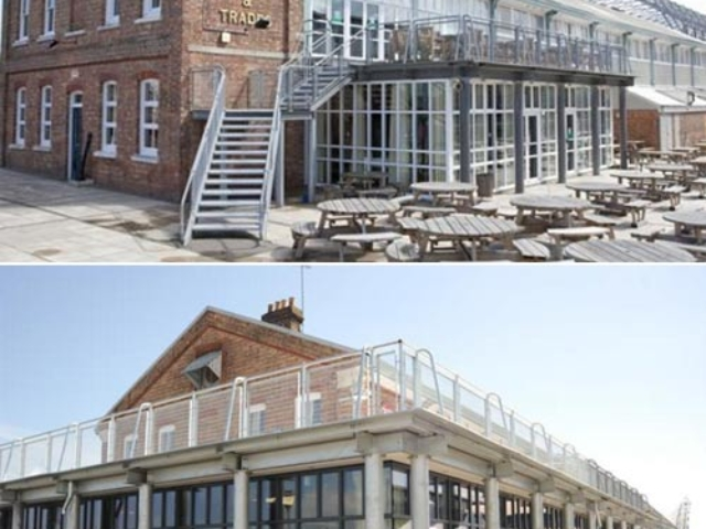 bs steels steel stairs, balconies, decking and balustrades at ship and trades chathamd balum