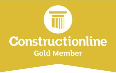 construction line gold member logo bs steels