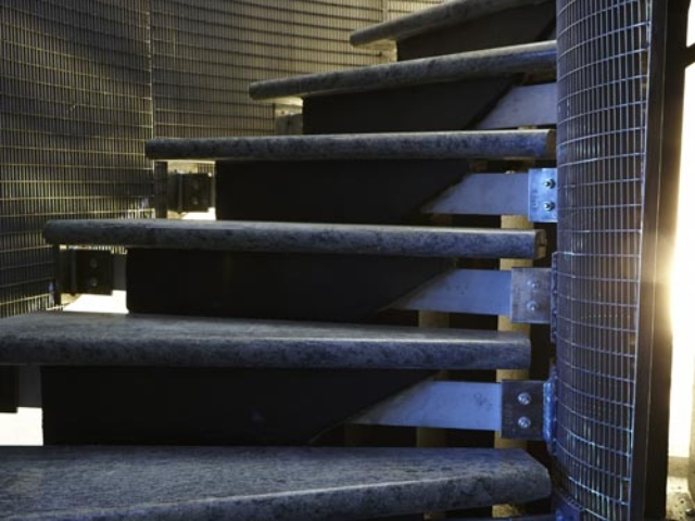 mild steel spiral staircase by bs steels shoreditch london