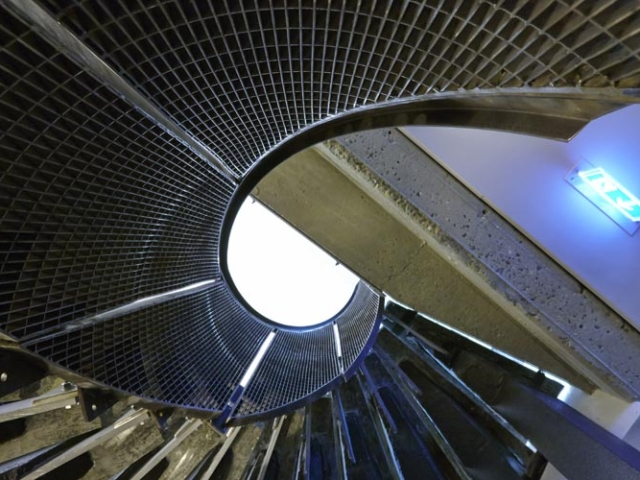 mild steel spiral staircase by bs steels