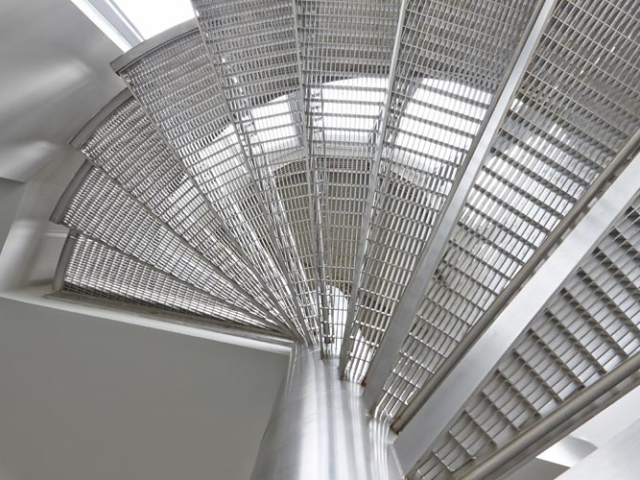 architectural stainless steel staircase by bs steels