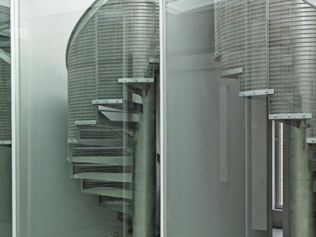 stainless steel spiral staircase designed built and installed by bs steels