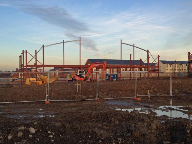 first structural elements installed north kent community churchmt