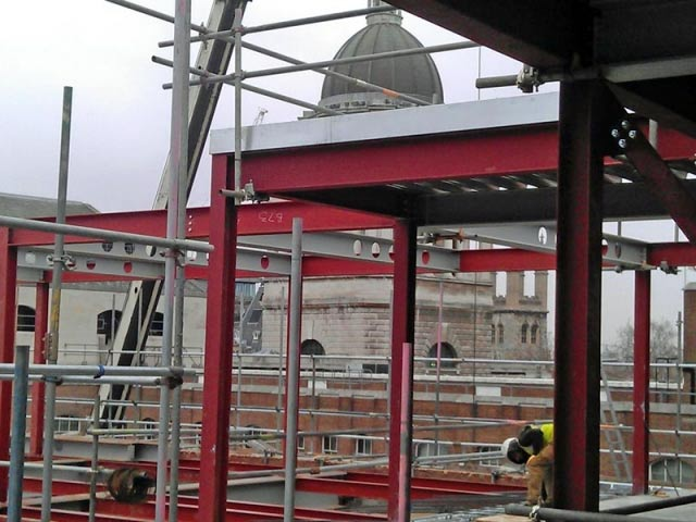 BS Steels provided steel and services for refurbishment of St Paul's House London EC1
