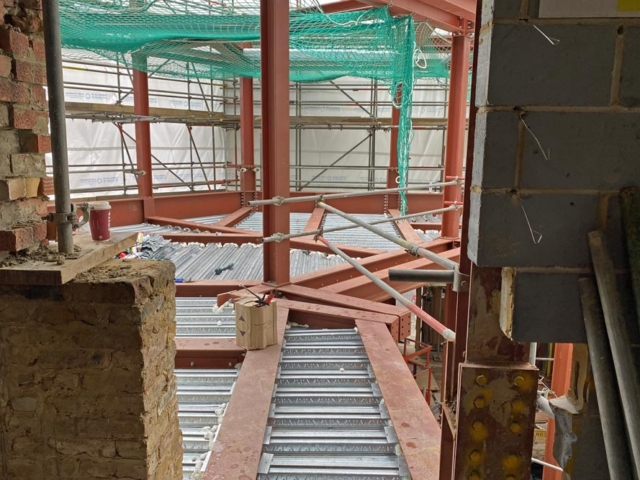first floor frame and floor 66-74 notting hill gate